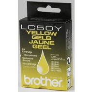 Brother Tintenpatrone (LC50Y) yellow