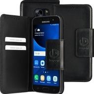 Bugatti BookCover Amsterdam für Samsung Galaxy S7, Schwarz