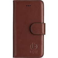 Bugatti Booklet Case Milano for iPhone 5/ 5S/ SE braun