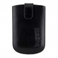 Bugatti SlimCase Leather Black Size SL (Magnet)