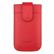 Bugatti SlimCase London - Universal - Size M - red