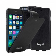 Bugatti UltraThin Flip Case Geneva für iPhone 6 Plus, Schwarz