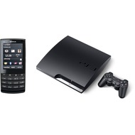 Nokia X3 Touch and Type, schwarz T-Mobile Edition + Playstation 3 Slim 320 GB