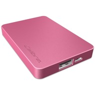 Calibre UltraGo nano PowerStation 2500mAh, pink