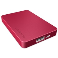 Calibre UltraGo nano PowerStation 2500mAh, rot
