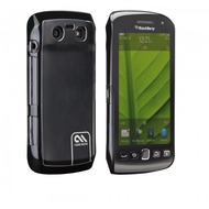 case-mate barely there Brushed Aluminum f�r BlackBerry Torch 9860, schwarz