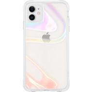 case-mate Soap Bubble Case, Apple iPhone 11, transparent/ schillernd, CM043110