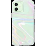 case-mate Soap Bubble Case, Apple iPhone 12/ 12 Pro, transparent/ schillernd, CM043524