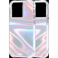 case-mate Soap Bubble Case, Apple iPhone 13 Pro, transparent/ schillernd, CM046636