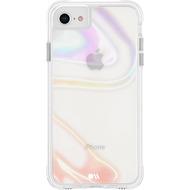 case-mate Soap Bubble Case, Apple iPhone SE (2020)/ 8/ 7/ 6S/ 6, transparent/ schillernd, CM043114