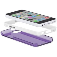 case-mate Tough Naked Cases purple/ white Apple iPhone 5C