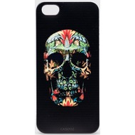 "Caseez Back Case ""Black Skull"" für Apple iPhone 5/ 5s/ SE"