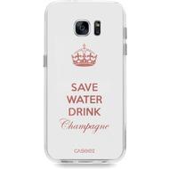 """Caseez Back Case """"Champagne-Gold"""" für Samsung Galaxy S7"""