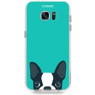 "Caseez Back Case ""Dog"" für Samsung Galaxy S7, türkis"