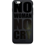 "Caseez Back Case ""No Woman No Cry"" Apple iPhone 6/ 6S Glossy schwarz"