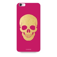 "Caseez Back Case ""Skull Gold"" für Apple iPhone 6/ 6s - Pink"