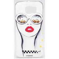 """Caseez Back Case """"Taxi"""" für Samsung Galaxy S6, Grau"""