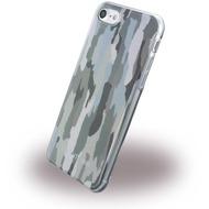 Cerruti 1881 Camouflage - Silikon Cover - Apple iPhone 7 - Grün