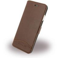 Cerruti 1881 Smooth Split - Kunstleder BookCover - Apple iPhone 7 - Braun