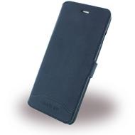 Cerruti 1881 Smooth Split - Kunstleder BookCover - Apple iPhone 7 - Navy