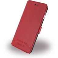 Cerruti 1881 Smooth Split - Kunstleder BookCover - Apple iPhone 7 - Rot