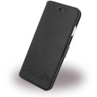 Cerruti 1881 Smooth Split - Kunstleder BookCover - Apple iPhone 7 - Schwarz