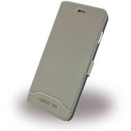 Cerruti 1881 Smooth Split - Kunstleder BookCover - Apple iPhone 7 - Taupe