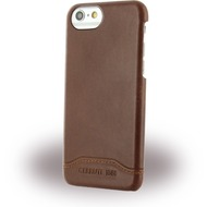 Cerruti 1881 Smooth Split - Kunstleder Hardcover - Apple iPhone 7 - Braun