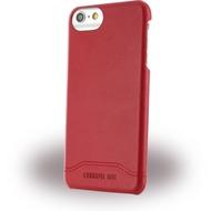 Cerruti 1881 Smooth Split - Kunstleder Hardcover - Apple iPhone 7 - Rot