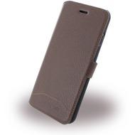 Cerruti 1881 Trim - Leder Book Cover - Apple iPhone 7 - Braun