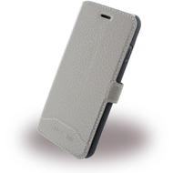 Cerruti 1881 Trim - Leder Book Cover - Apple iPhone 7 - Taupe