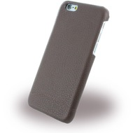 Cerruti 1881 Signature Trim - Leder Hardcase für Apple iPhone 6/ 6s - Braun