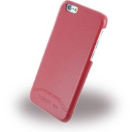 Cerruti 1881 Smooth Split - Kunstleder Hardcase für Apple iPhone 6/ 6s - Rot