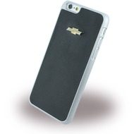 chevrolet Emblem Mirror Effect, Leder Hard Cover für Apple iPhone 6 Plus/ 6s Plus, schwarz