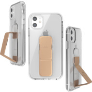 CLCKR Clear Gripcase FOUNDATION for iPhone 11 clear/ rose gold colored