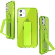 CLCKR CLEAR NEON GRIPCASE SEASONAL FW19 for iPhone 11 neon yellow