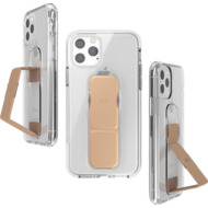 CLCKR Gripcase FOUNDATION for iPhone 11 Pro clear/ rose gold colored