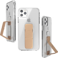 CLCKR Gripcase FOUNDATION for iPhone 11 Pro Max clear/ rose gold colored