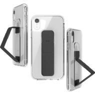 CLCKR Gripcase FOUNDATION for iPhone XR clear/ black