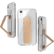CLCKR Gripcase FOUNDATION for iPhone XR clear/ rose gold colored
