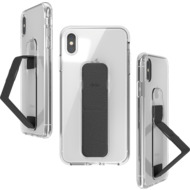 CLCKR Gripcase FOUNDATION for iPhone XS Max clear/ black