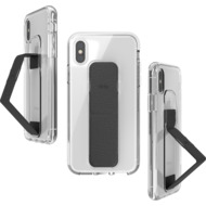 CLCKR Gripcase FOUNDATION for iPhone X/ Xs clear/ black