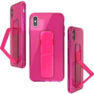 CLCKR Gripcase Neon Seasonal FW19 for iPhone XS Max neon pink