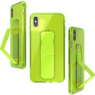 CLCKR Gripcase Neon Seasonal FW19 for iPhone XS Max neon yellow