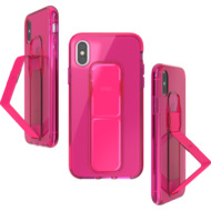CLCKR Gripcase Neon Seasonal FW19 for iPhone X/ Xs neon pink