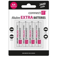 connect IT Battery connect IT Alkaline AA 4er