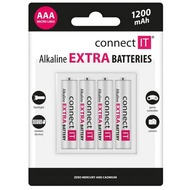 connect IT Battery connect IT Alkaline AAA 4er