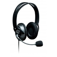 connect IT Headset connect IT PC Schwarz/ Silber w/ Mic