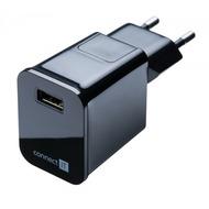 connect IT Ladegerät USB Netzteil 2.1 A Schwarz