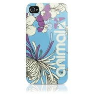 Contour Design Hardcase Animal Josie Floral iPhone 4/ 4s, blau